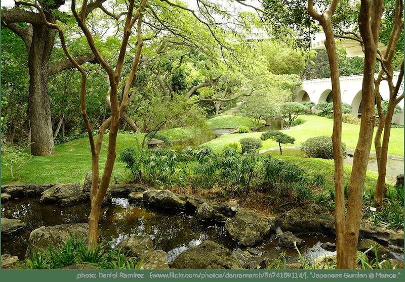 ハワイ大学内イースト・ウエストセンター日本庭園