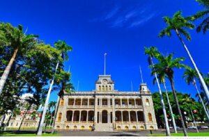ハワイのイオラニ宮殿(イオラニ・パレス)への行き方、見学方法や所要時間は?